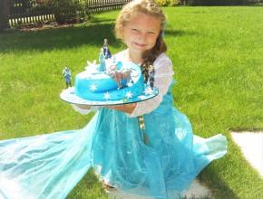 """""""Elsa"""" mit Torte"""