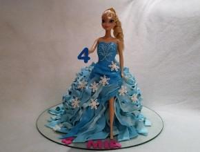 3D Elsa Torte