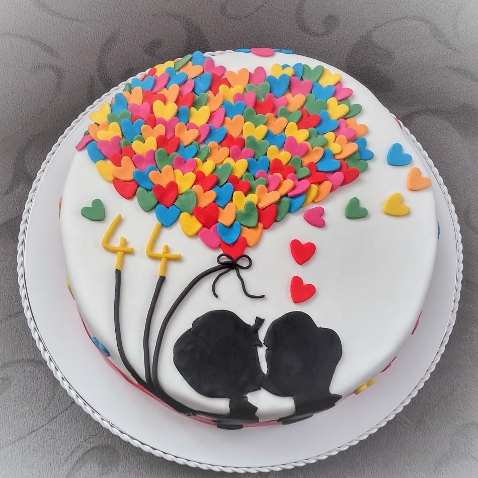 Ich Liebe Dich Torte Backelfe De