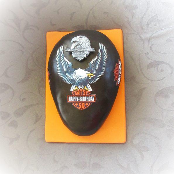 Harley-Davidson Torte - Oben