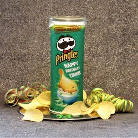 Pringles-Torte für meinen Sohn