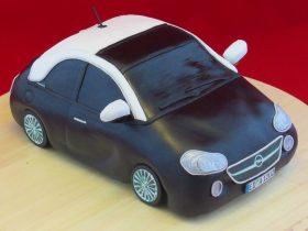 Seitenansicht der Opel ADAM-Torte